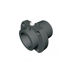 8461 20mm pitch spannblock 2 round flange