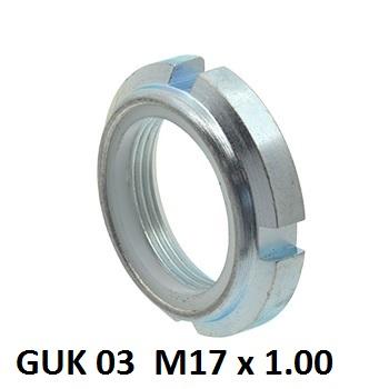 8471 guk 03 m17 x 100 nylon insert locking nuts