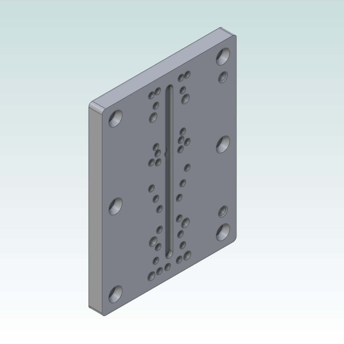 8991 teknomotor mountplate v4 for 40x160 profile