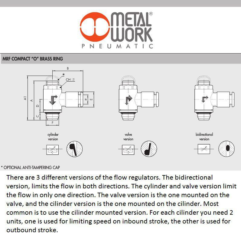 9001111v 4x18 valve mrf o brass flow regulator m