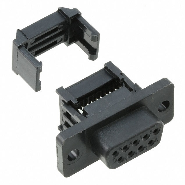 9461 10 poleribbon to 9 pole dsub connector female