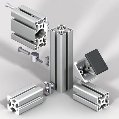 aluminum profiles accessories