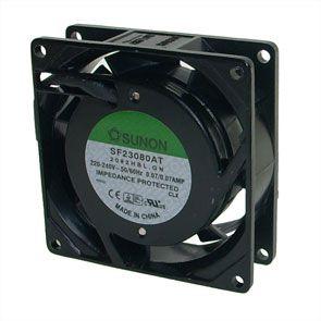 ac brushless fan sunon sf23080at2082hblgn fan slim 80mm 230vac