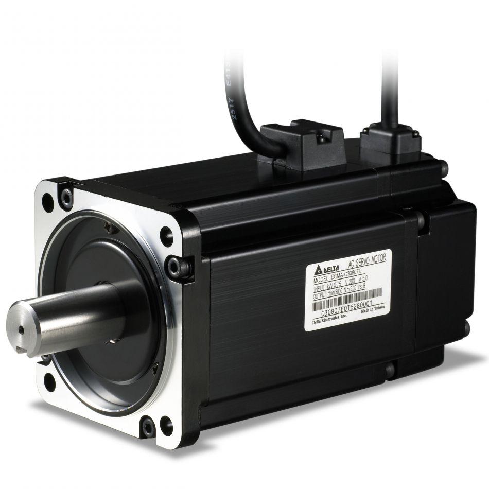 ac servo motor 750w with brake ecmac20807ss