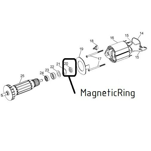 amb kress spare magnetic ring 20