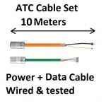 ATC Cable set 10 meters