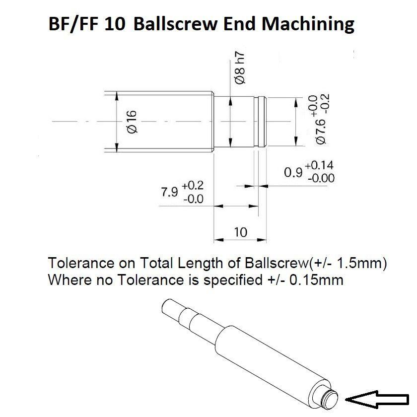 bfff 10 ballscrew end machining floating side