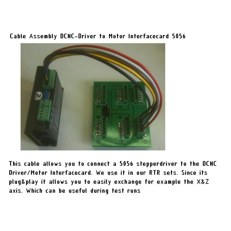 cable assembly dcncdrivemotor interface 38cm to dm556dm856