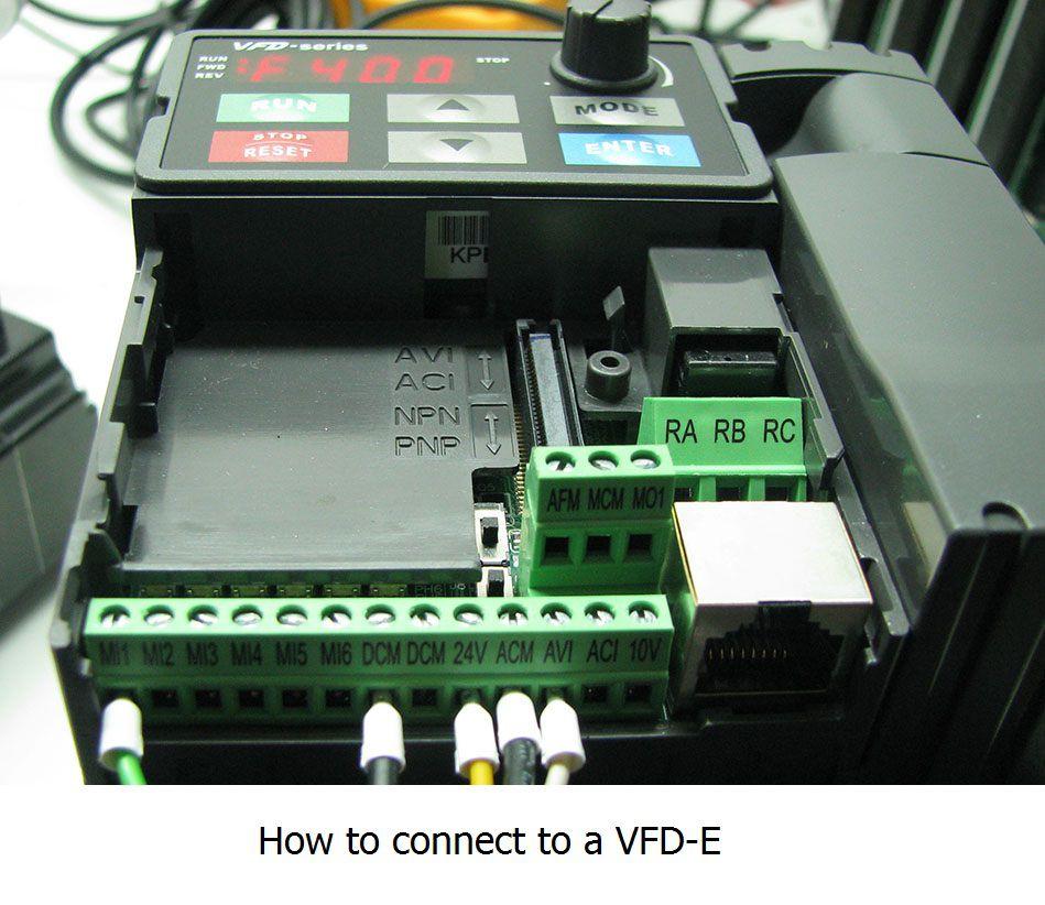 cable damencncrtr to delta vfd 1 meter
