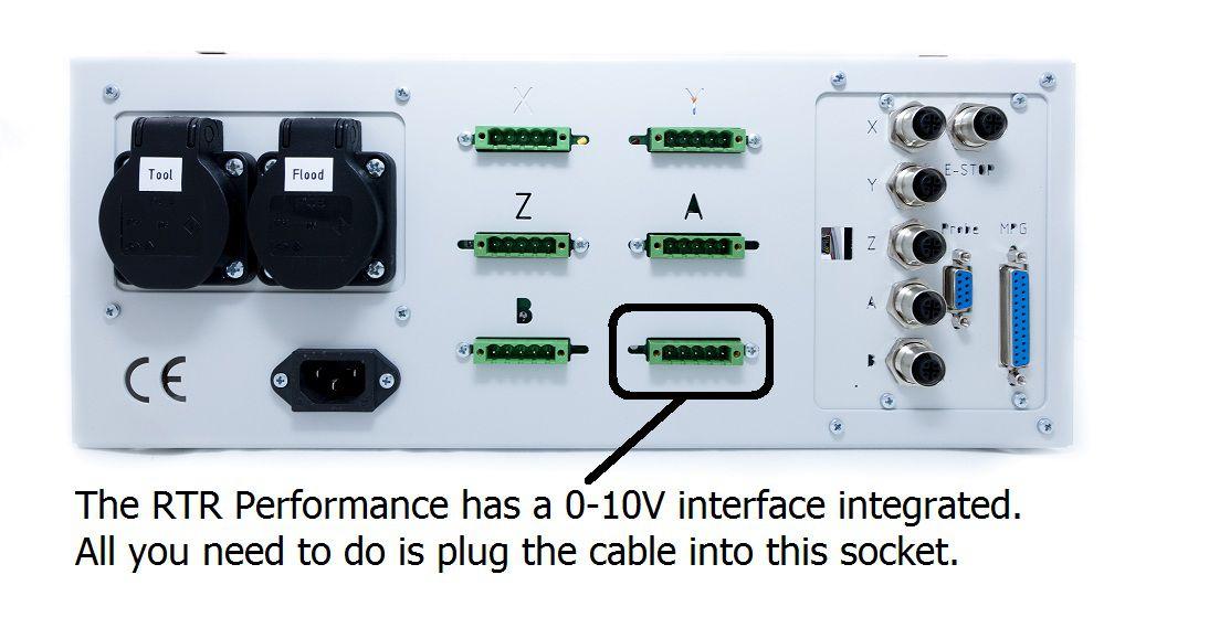cable damencncrtr to delta vfd 3 meter