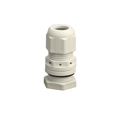 cable glands hensel kbm m25x15mm gray self ventilating
