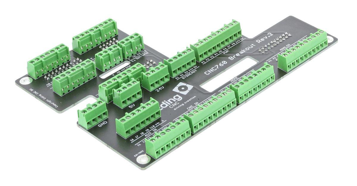 cnc760 breakout board