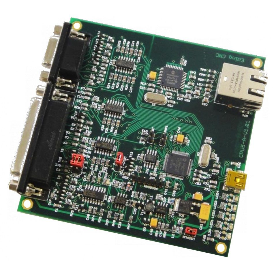 cpu5a4e 4axis ethernet software hardware interface