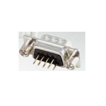 dsub female pcb connector 9 pins with 440unc thread spacer