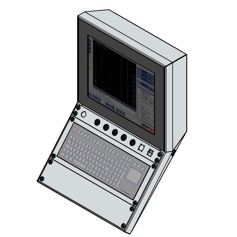 damencnc professional console ip67