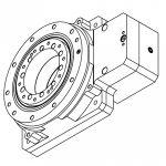 DCNC-HSR-F230 I=10 Hollow Shaft Reducer (130x130 Servo)