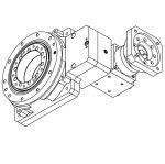 DCNC-HSR-F230 I=40 Hollow Shaft Reducer (126x126 KUKA Servo S=19mm)