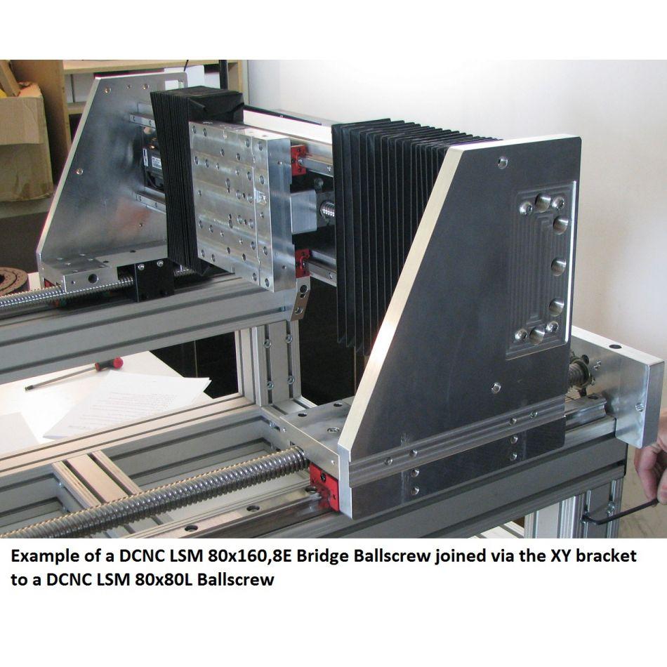 dcnc lsm 80x1608e bridge ballscrew rcustom diy