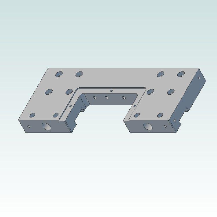 dcnc lsm 80x80l slideplate for 25mm ballscrew