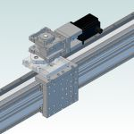 DCNC Router Bridge-axis R&P R=1790mm DIY