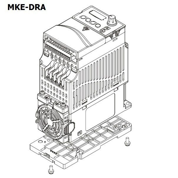 delta dinrail mount type a 72mm wide mkedra