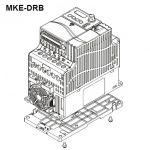 DELTA DIN-rail mount type B (100mm wide) MKE-DRB