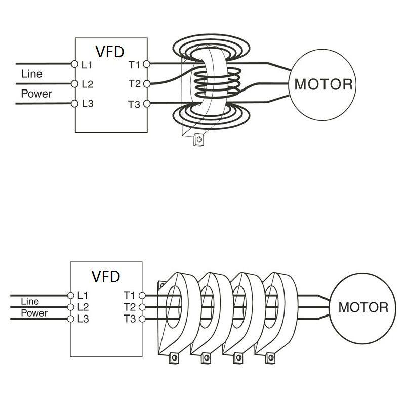 delta zero phase reactor rf220x00a