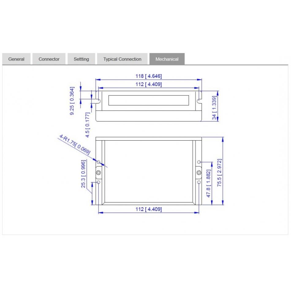 digital stepper drive dm805ai 80v 70a with integrated oscillator 2phase