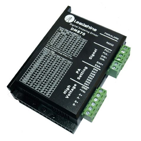 digital stepper drive dm870 80v 70a 2phase