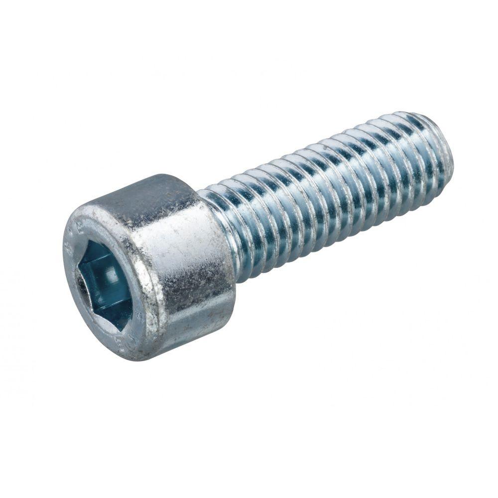 Stahl 8.8 galv verzinkt 2 Stk Zylinderschrauben DIN 6912 M10 x 30 mm