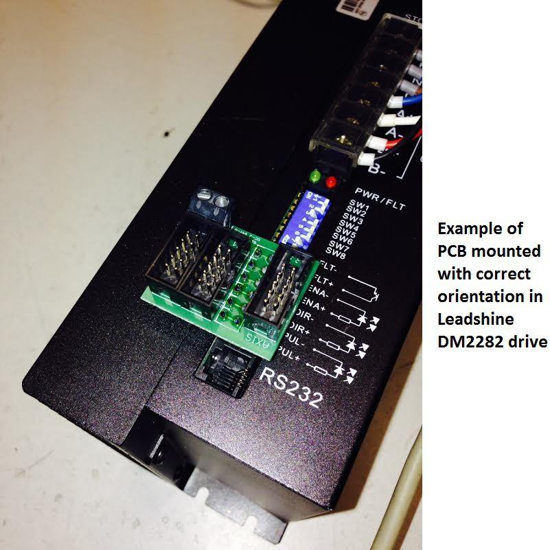 driver compatibility pcb dm2282