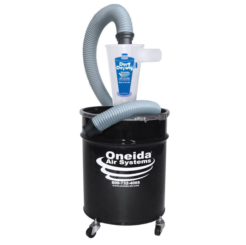 dust deputy 10 gal deluxe cyclone separator kit