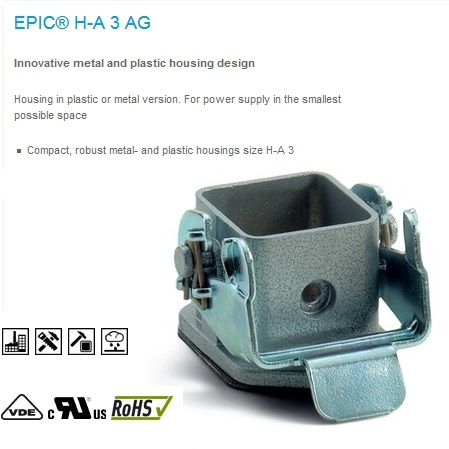 epic ha 3 mag chassis housing straight