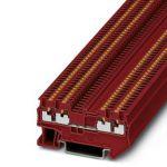 Feed-through terminal - PT 1,5/S-QUATTRO - 3208200 (RED)