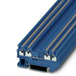 Feed-through terminal - PT 1,5/S-QUATTRO - 3208208 (BLUE)
