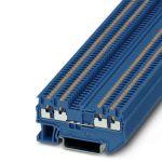 Feed-through terminal - PT 1,5/S-QUATTRO - 3208208 (BLUE)