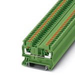 Feed-through terminal - PT 2,5 - 3209513 (GREEN)