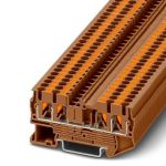 Feed-through terminal - PT 2,5-QUATTRO - 1176302 (BROWN)
