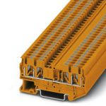 Feed-through terminal - PT 2,5-QUATTRO - 3001373 (ORANGE)