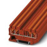 Feed-through terminal - PT 2,5-QUATTRO - 3209580 (RED)