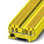 Feed-through terminal - PT 2,5-QUATTRO - 3209583 (YELLOW)