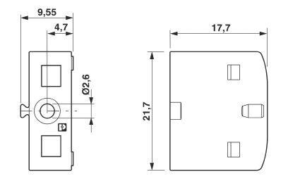 flange ptfix 15f 1049503