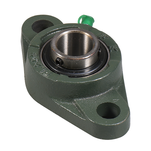 flanged bearing 2 mount holes 12 mm ucfl201