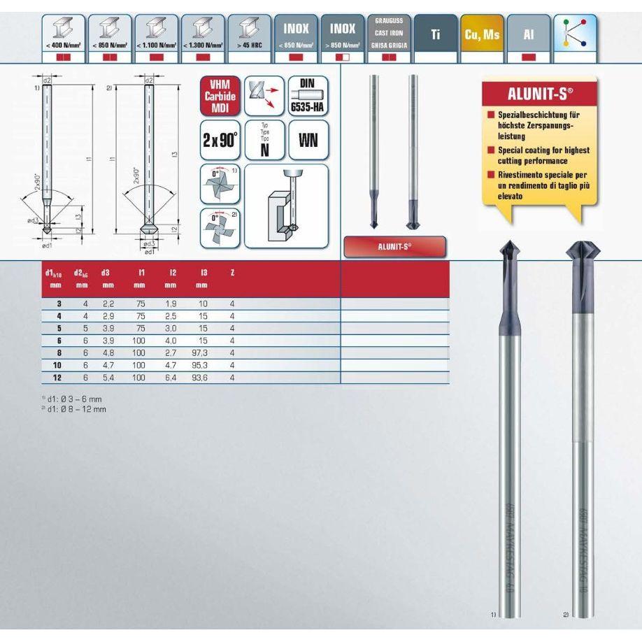 fwdrev deburring tool 1000mm 6507010001