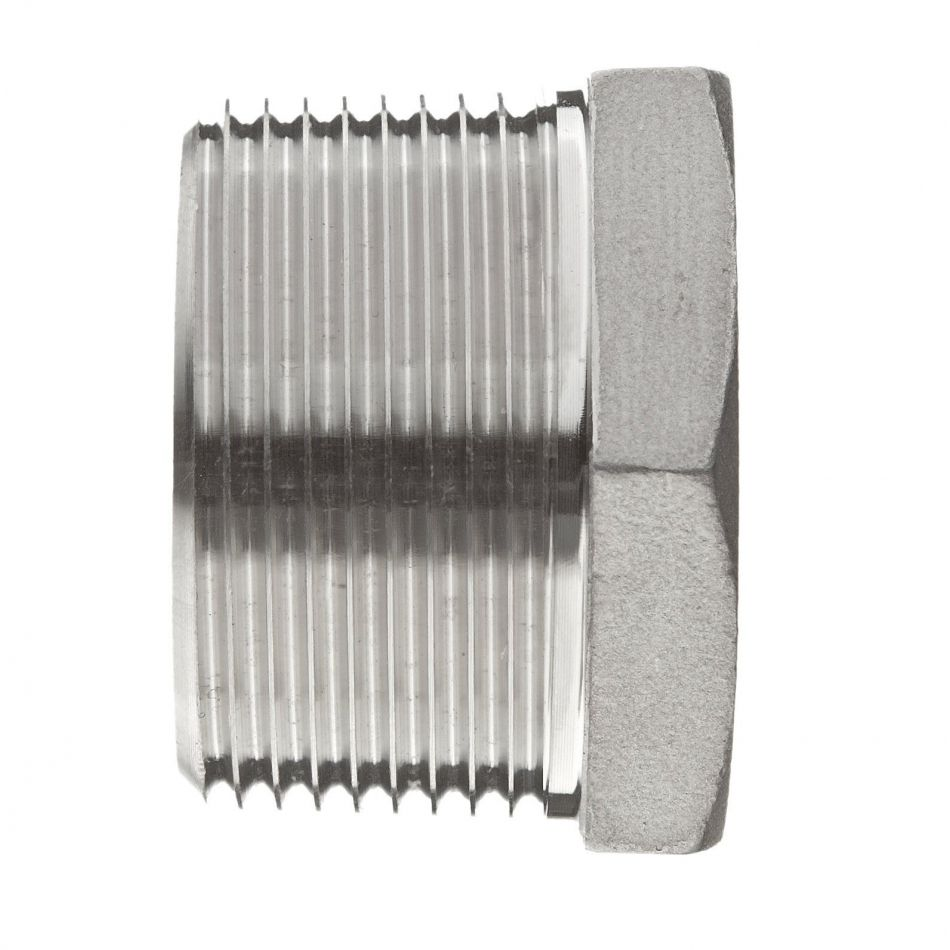 g 2 to g 1 12 hex bushing thread reducer 316 stainless steel
