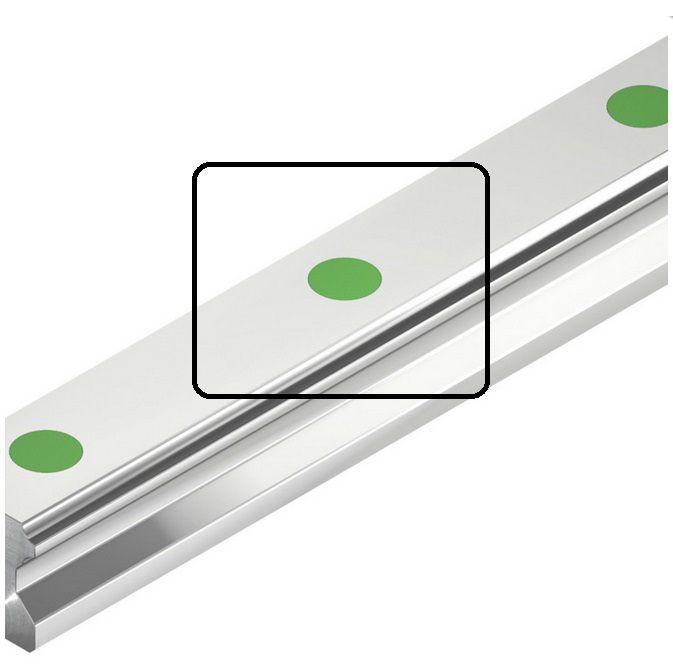 hiwin c8 green caps for hgr 3035mm rails
