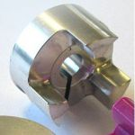 "HUB ShaftCoupler DCNC-D32-L32-B9.53mm (3/8"")"