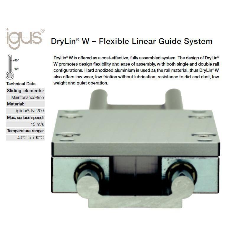 Igus Drylin Ws 10 40 Double Rails Damencnc B V