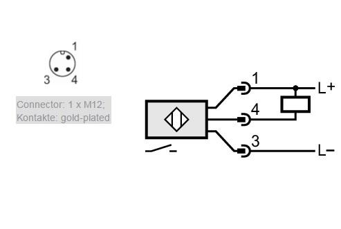 inductive proximity switch ifs 242 npn 1036vdc long model
