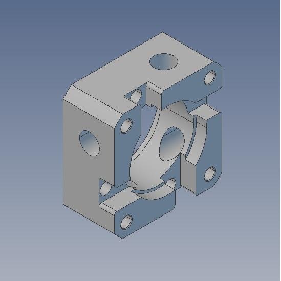 input flange 40x40 100w servo for dcnchsrf85